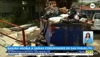 Denuncian acumulación de basura en El Mirador de San Miguelito - TVN Panamá