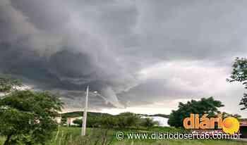 Chuvas de até 50 mm com ventos fortes podem atingir Sousa, Cajazeiras e Pombal nas próximas horas - Diário do Sertão