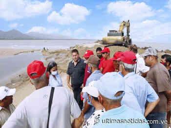 Autoridades iniciaron despeje de la boca en laguna de Puerto Píritu - Últimas Noticias
