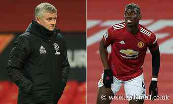 Manchester United's Paul Pogba to miss 'a few weeks' more with injury says Ole Gunnar Solskjaer