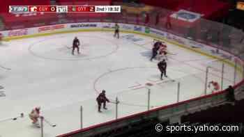 Milan Lucic with a Goal vs. Ottawa Senators