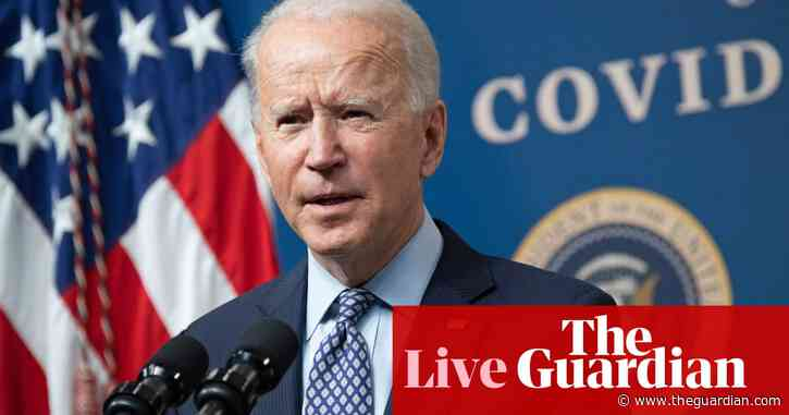 Biden warns Americans 'this is not the time to relax' as vaccinations ramp up – live