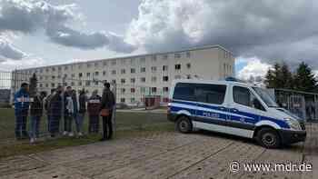 Flüchtlingsunterkunft in Suhl: Noch kein neues Sicherheitskonzept für Erstaufnahme - MDR