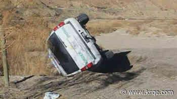 Border Patrol vehicle involved in crash near Sunland Park