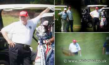 Trump plays golf as he prepares for his CPAC speech and Manhattan DA combs through his tax returns