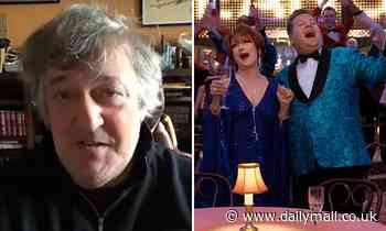 Stephen Fry says James Corden should not have played gay role in Netflix's The Prom