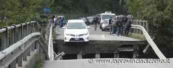 Annone, il crollo del ponte Miracolato di Albavilla si sfila - La Provincia di Como