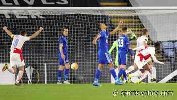 UEL: Leicester stunned, Man Utd through