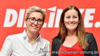 Bundesparteitag: Abstimmung aus Wohnzimmer:Linke wählt neue Parteispitze