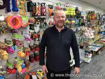Farnworth community rallies after burglars break into Nigel's Pet Supplies