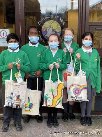 Thoughtful Bolton primary pupils make deliveries to community elders