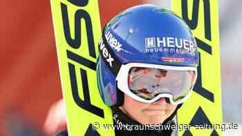 Nordische Ski-WM: Skispringerin Vogt am emotionalen Tiefpunkt