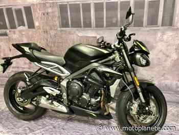 Triumph Street Triple RS 17 2020 à 11090€ sur MONTLHERY - Occasion - Motoplanete
