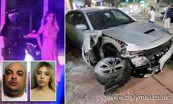 Uber driver charged with being an accessory for helping woman in 6-inch heels flee scene of a crash
