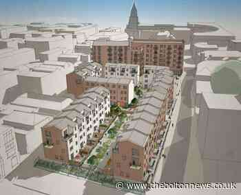 Plans to transform Bolton town centre with 158 home development