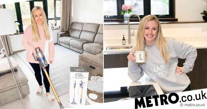 'Cleanfluencer' with almost 80,000 Instagram followers insists she's not a 'clean freak'