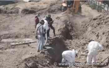 Fiscalía busca cuerpos en fosa de Santa Lucía; termina trabajos en Colinas de Huentitán - El Occidental