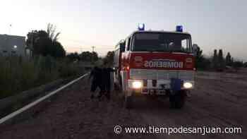 Bomberos lograron un rescate fuera de serie en Santa Lucía - Tiempo de San Juan
