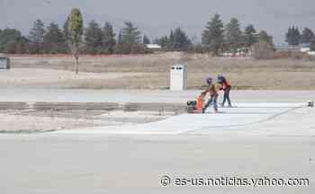 AMLO expropia 11 hectáreas para construir aeropuerto en Santa Lucía - Yahoo Noticias