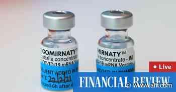 Coronavirus LIVE UPDATES: Scott Morrison told of alleged rape by cabinet minister - The Australian Financial Review
