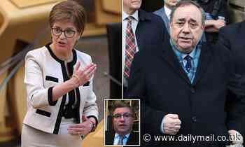 Alex Salmond prepares to give bombshell evidence to Holyrood inquiry