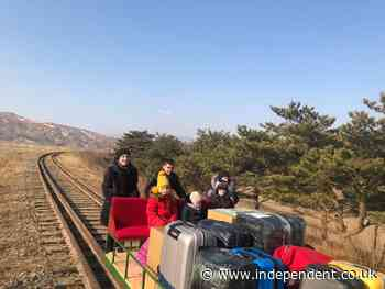 North Korea makes Russian diplomats push themselves out of country using handcar amid Covid restrictions