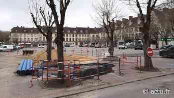 Les Andelys. Les travaux en sous-sol se terminent sur la place Nicolas-Poussin - L'Impartial