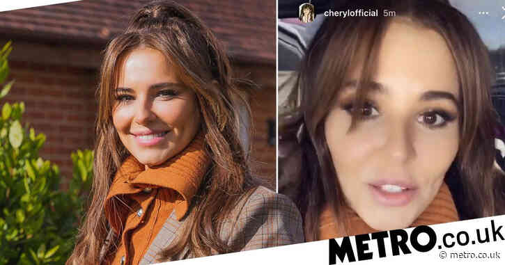 Cheryl leaves house for 'first time in months' to support Billy Monger raising money for Comic Relief