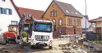 Bammental: Sanierung der Reilsheimer Straße geht zuletzt gut voran - Rhein-Neckar Zeitung