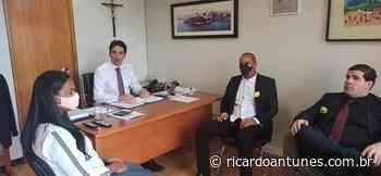 Prefeito Carrapicho faz giro por Brasilia e é recebido por Silvio Costa Filho - Ricardo Antunes