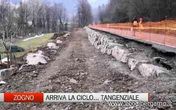 A Zogno arriva anche la ciclotangenziale - Video Zogno - L'Eco di Bergamo