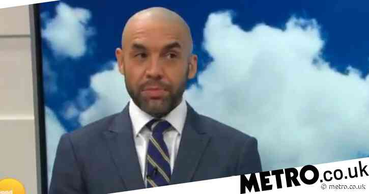 Good Morning Britain host Alex Beresford mocks 'has been' Prince Harry after James Corden appearance