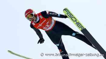 Nordische Ski-WM: Deutsche Kombinierernach Springen gut imRennen