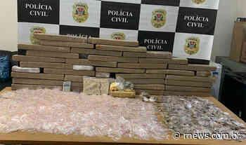 Polícia Civil de Franco da Rocha detém dois e apreende mais de 100 kg de drogas - RNews