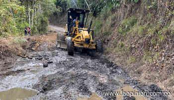 En Chitagá, mejoran vías a Chucarima | La Opinión - La Opinión Cúcuta
