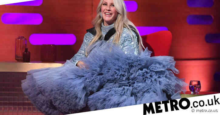 Ellie Goulding covers up baby bump in extra AF dress on The Graham Norton Show after revealing surprise pregnancy