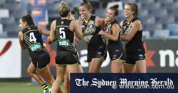 Richmond blast Geelong to ring up first win