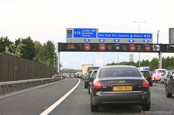 MPs launch review into safety of smart motorways