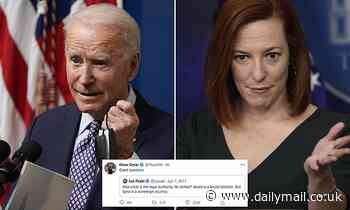 Biden and his press secretary come underfire for past tweets slamming Trump's Middle East airstrikes