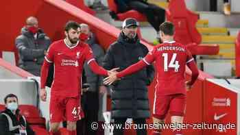 Premier League: Liverpool-Kapitän Henderson fällt nach Operation länger aus