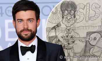 Jack Whitehall reveals his hilarious childhood drawings of stars