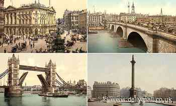 Photochrom images reveal grand and glorious London bustling with life in the 1890s