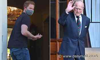 Prince Harry reveals his grandfather Prince Philip simply slams shut his laptop to end Zoom calls
