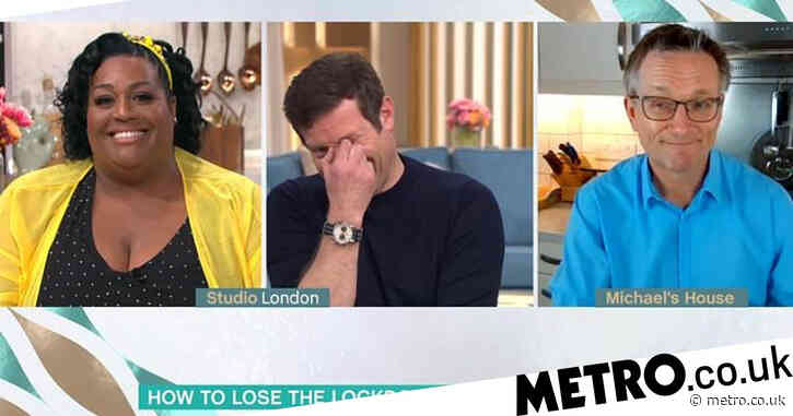 This Morning's Alison Hammond gobsmacked as Michael Mosley reveals meagre dinner as part of 800-calorie diet