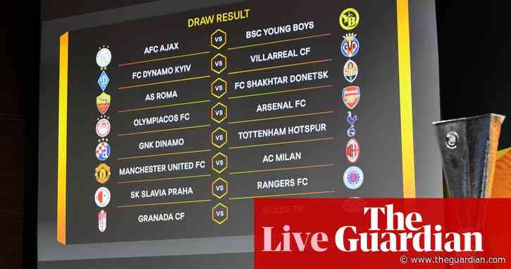 Manchester United v Milan in Europa League last 16 and more – live!