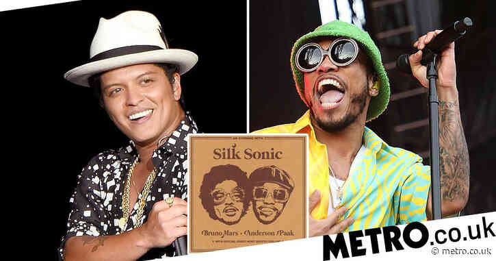 Bruno Mars and Anderson .Paak join forces as Silk Sonic as they announce new album