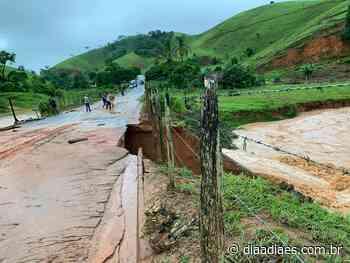 Rodovia interditada e famílias desalojadas em Muniz Freire » DiaaDiaES.com.br - Dia a Dia Espírito Santo
