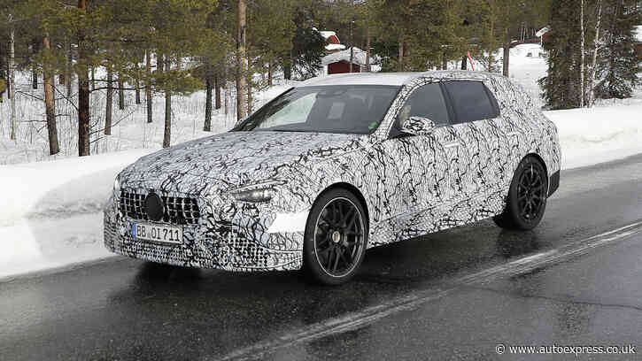 Mercedes-AMG C63 Estate caught testing ahead of 2022 arrival