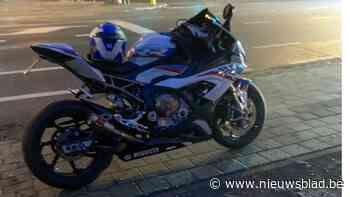 Politie houdt gerichte actie om snelheidsduivel op motorfiets te klissen