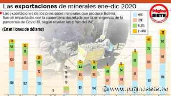 Ventas de empresa minera San Cristóbal caen en 41% en un año - Diario Pagina Siete
